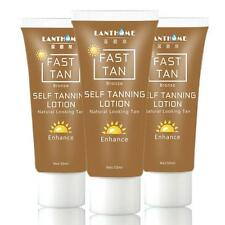 50ML Powerful Self Dark Tanning Cream Body Mitt Skin Tanning Oil Lotion YU 282