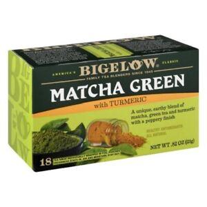 Bigelow Matcha Green Tea with Turmeric