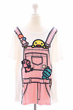 T-18 pato Duck t-shirt Harajuku japón tendencia fashion dulce Kawaii-Story