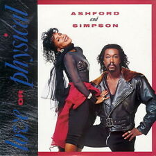 """12"""" Ashford And Simpson Love Or Physical (Something To You) 1989 EMI Capitol"""