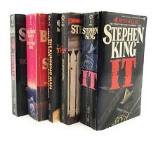 Stephen King IT 1986 Signet 1st Printing Plus Other Novels Lot Of 5