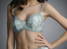 Fantasie Fauve Coco Bra Willow Size 30G Padded Half Cup Green Lace 0251 New