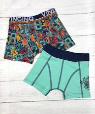 VINGINO Boxershorts Unterhose Gr. XL 158-164  2-Pack Camiel Multicolor Blue