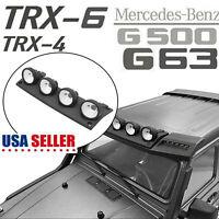 Für TRX-4 Mercedes G500 TRX6 G63 Crawler RC Auto Scheinwerfer Metall Guard
