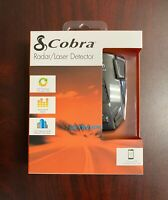 Cobra Radar Laser 360 Degree Detector LED Icons/Safety Alert/Auto Mute /12 Bands