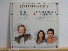 "★★ 12"" LP - PETER KRAUS / RENATE & WERNER LEISMANN - Große Erfolge - Schlager"