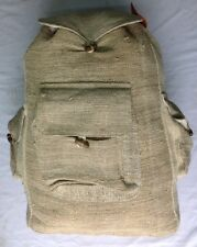 Hemp 100% Handmade Backpack made in Nepal.