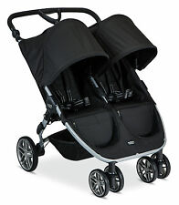 Britax 2017 B-Agile Double Stroller - Black - Brand New! Free Shipping!