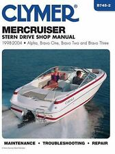 1998-2004 MerCruiser Stern Drive Alpha Bravo Repair Manual 2003 2002 2001 B7452