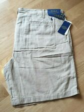 NEW GENUINE Polo Ralph Lauren Straight Fit Shorts RRP £75 - Khaki