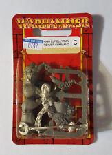 GW Warhammer High Elf Ellyrian Reaver Command 87-47 2000 - METAL OOP SEALED MIB