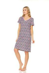 N863 Womens Nightgown Sleepwear Pajamas Woman Sleep Dress Nightshirt