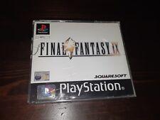 Final Fantasy IX (Sony PlayStation 1, 2000) cracked case