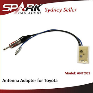 SP Antenna adapter for Toyota Prius C 2009+ to m din antenna ANTO01