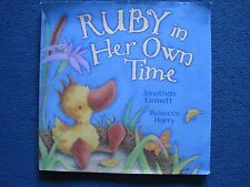 Ruby in Her Own Time book by Jonathan Emmett & Rebecca Harry (signed by) - GC