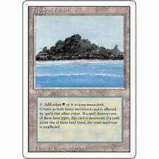 MTG REVISED (3RD EDITION) * Tropical Island - Condition: Good