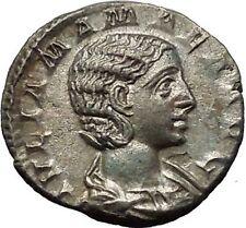 Julia Mamaea Silver Ancient Roman Coin Rare Juno wife & sister of Jupiter i52327