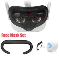 For Oculus Quest 2 VR Headset Accessories Helmet Eye Face Mask Cover 6Pcs/Set