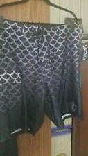 Da Hui Men's Hybrid Collection Shorts New (Black, 38)