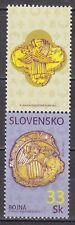 SLOVAKIA 2008 **MNH SC# 547 Copper Plaque Found at Bojna + label