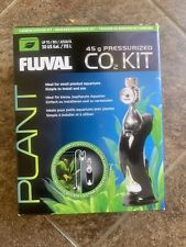 Fluval 45g Pressurized CO2 Kit Small Planted Aquariums Up To 30 US Gall #17554