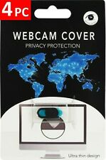 4PCS WebCam Cover Slide Camera Privacy Security Protect Sticker For Phone Laptop