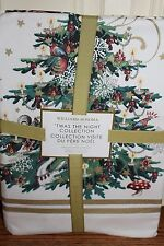 NWT Williams Sonoma Twas the Night Before Christmas tablecloth 70x90 cloth
