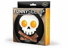 Fred Funny Side up Skull Silicone Egg Art Mould Halloween Breakfast Mold Frame