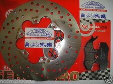KIT DISCO BREMBO+PASTIGLIE ANTERIORI MALAGUTI 250 PHANTOM MAX 2005 2006  735
