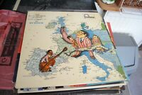 THE DAVE BRUBECK QUARTET    IN EUROPE   LP    FONTANA RFECORDS   TFL 5034  1958
