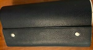 Hermes Sketch Book Blue Calf Leather Mint Condition