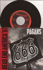 PAGANS Dead End America 7 Inch Single TreeHouse TR 003