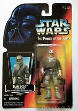 Star Wars Potf Red Card ~ Han Solo in Hoth Gear ~ 1995 Figure ~ Unopened