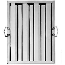 """New Star Foodservice 54316 Stainless Steel Hood Filter, 16"""" X 20"""" Filters Range"""