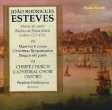 Esteves Mass for 8 Voices Christmas Responsories Christ Church Cathedral Choir