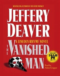The Vanished Man - A Lincoln Rhyme Novel Thriller by Jeffery Deaver Audiobook CD