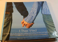 "I Thee Wed ""Invaluable Tips On Planning Your Wedding. Cover Worn. Unused inside."
