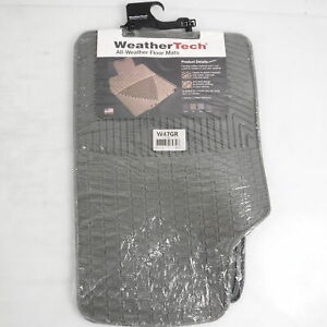 WeatherTech W47GR All Weather Front row Floor Mats for 2005-2011 Cadillac STS