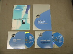 Palm Desktop Software m500 Handheld & Getting Started Guide and Solutions Guide