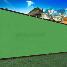 6 x 50 FT Privacy Fence Screen Green Windscreen Shade Cover Fabric Mesh Tarp