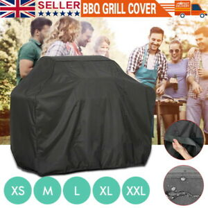M L XL BBQ COVER WATERPROOF RAIN GARDEN BARBECUE GRILL HEAVY DUTY EXTRA LARGE