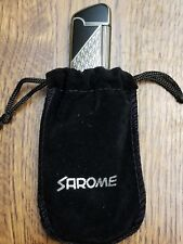 Sarome wide flame flint butane lighter SD16W-03