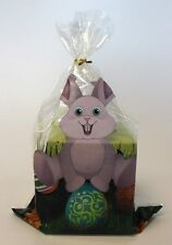 Easter bunny printed cellophane sweet/chocolate treat goody bags *500 pack*