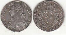 Monnaie Louis XVI 1/10 écu aux branches d'olivier 1882 A