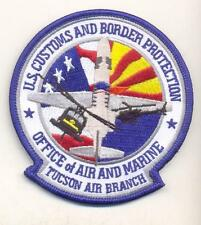 US CUSTOMS AND BORDER PROTECTION, TUCSON AIR BRANCH Novelty Patch