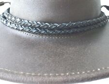 Hat Band Leather for Stetson Akubra JACARU Barmah Kakadu and Other Style Hats