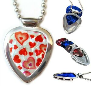 PICKBAY Guitar PICK Necklace Set Ultimate Valentine Gifts For Him Or Her NEW