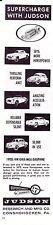 1959 190SL - VW - GHIA - MGA - DAUPHINE  ~  ORIG SMALLER JUDSON SUPERCHARGER AD