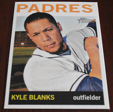 2013 Topps Heritage High Number On line exclusive Kyle Blanks Padres