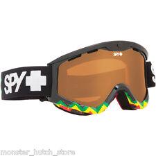 BRAND NEW Spy Optic TARGA 3 RUDE BOY PERSIMMON LENS Snowboard Ski Goggle LIMITED